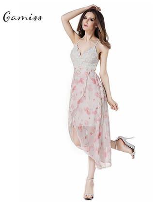 LL Store Dresses Front Print Maxi Floral qwXZOIF