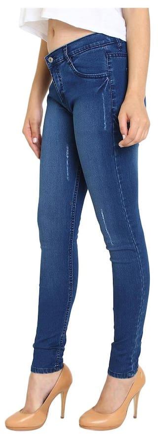 Fashion of Women's Fuego 3 Jeans 3 Combo Wear Pack of Lycra fqwdTZ