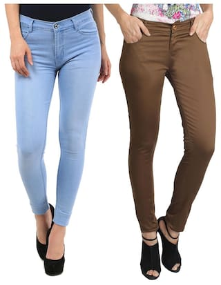 Combo Fashion Fuego 2 And Women pack For Trouser Of Jeans Of Wear dgErWPE