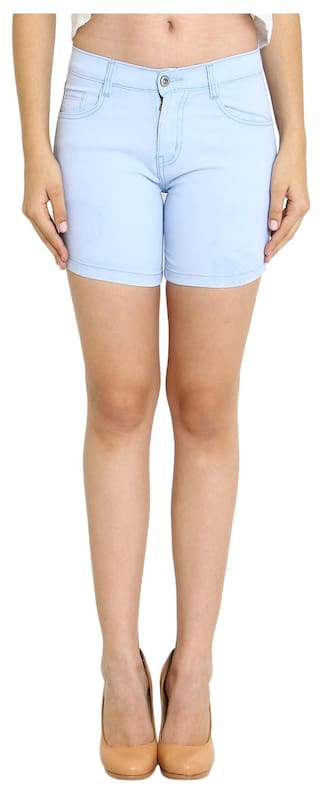 Blue Fuego Light Wear For Shorts Women's Fashion fSSzHwtx