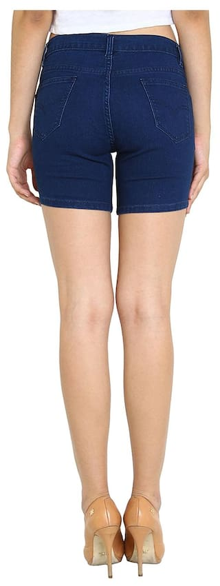 Shorts Blue Of Wear For 2 Pack Fashion Women's Fuego RnqSzwtxz