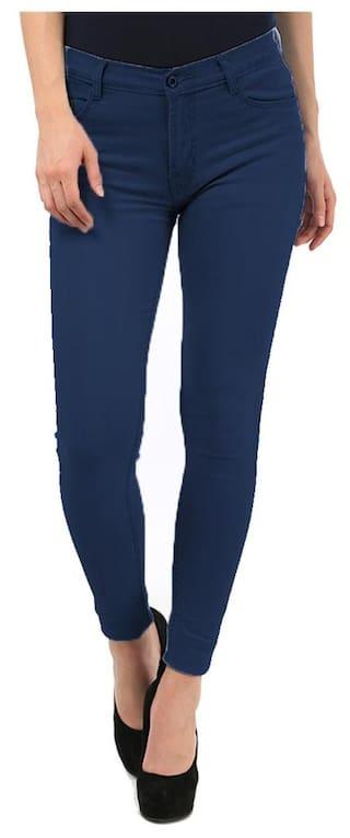 Fuego Fashion Wear Blue Slim Fit Jeans For Women