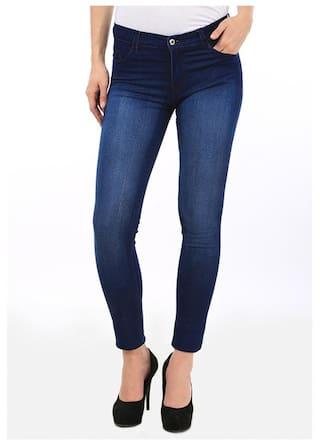 Stylish Women Jeans Socks Wear Blue For Fashion Fuego And qSAggx