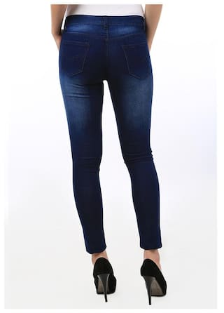 Fuego Monkey For Wash Fit Slim Jeans Women Fashion Wear ZRqRpa