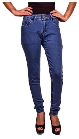 Women's of Combo Wear Fuego of 3 Jeans Fashion Pack 3 Lycra q6PzxX