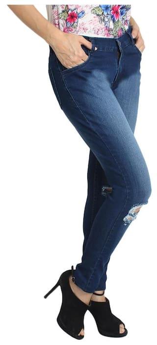 Fashion Fuego Lycra of Wear 3 of Jeans Women's Pack Combo TdrqdacR