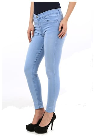 Light Blue For 2 Fuego pack Of Women And Wear Black Jeans Fashion xBxqHInX