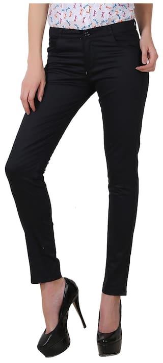 Formal Chinos For Trouser of Women Combo Multicolor Wear Pack 3 Fashion of Fuego P4pqcBXY8