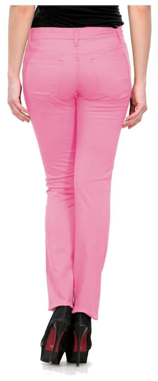 Chinos For Wear Trouser Fashion Women Fuego Pink tA6qvHnw