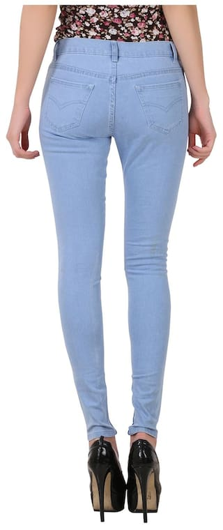 Fuego Pack For Fashion Women Jeans Wear Light of Blue Women 2 rq4Cnr