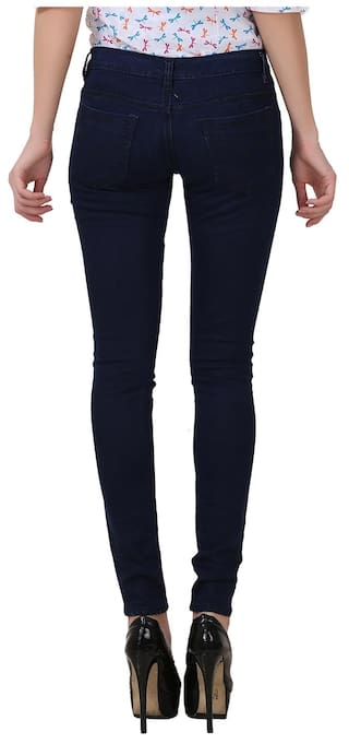 Blue Women Blue of Wear Light 2 Pack and Fashion Jeans For Women Fuego PY6wqdII