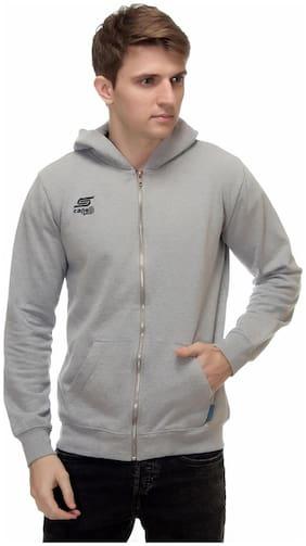 Kotty Men Cotton Hoodie - Grey