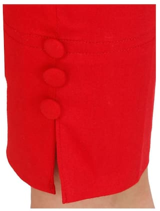 Jeggings Lycra Cotton FUNKY GUYS Red BC0qFwCp8