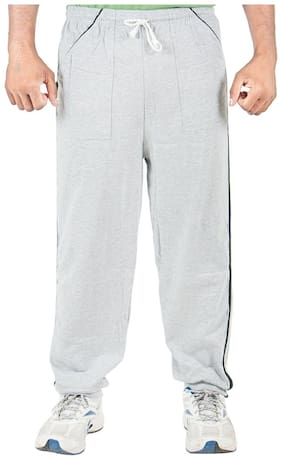 Loose Fit Blended Track Pants