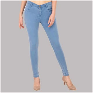 FunTree Women Blue Slim fit Jeans