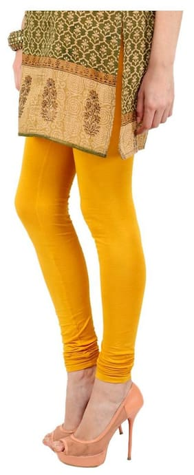 3f5424bb429d3 FYAARA BEST QUALITY LEGGINGS FOR WOMEN-YELLOW COLOUR