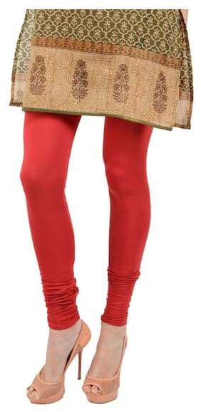 5b8c06af44c85 FYAARA BEST QUALITY LEGGINGS FOR WOMEN-RED COLOUR