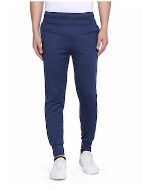 Slim Fit Polyester Blend Track Pants