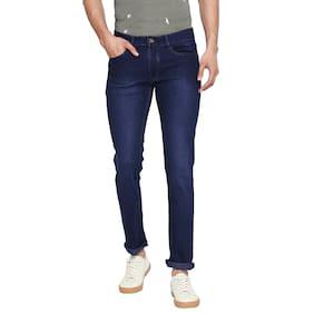 GERICHO LONDON Men Blue Slim Fit Jeans
