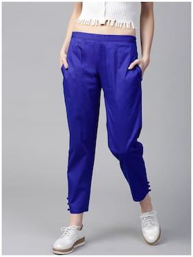 GERUA Women Blue Regular fit Regular trousers