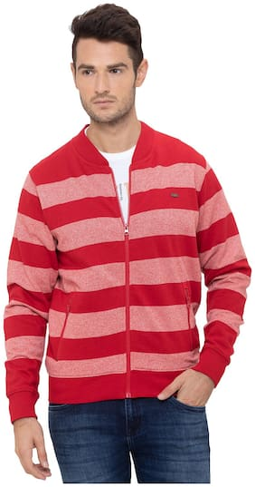 Men Striped Sweatshirt Pack Of 1