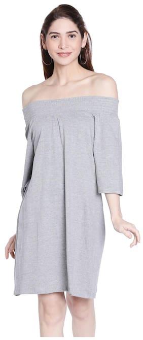 Globus Grey Straight Dress