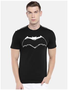 Men Round Neck Superhero T-Shirt