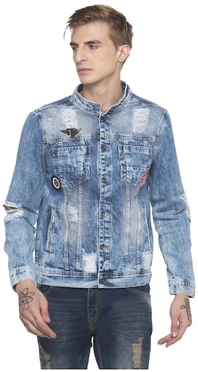 Men Cotton Denim Jacket