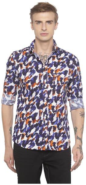 Men Regular Fit Camouflage Casual Shirt