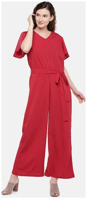 Women Solid Jumpsuit