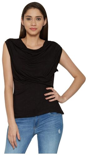 Globus Polyester Black Tops