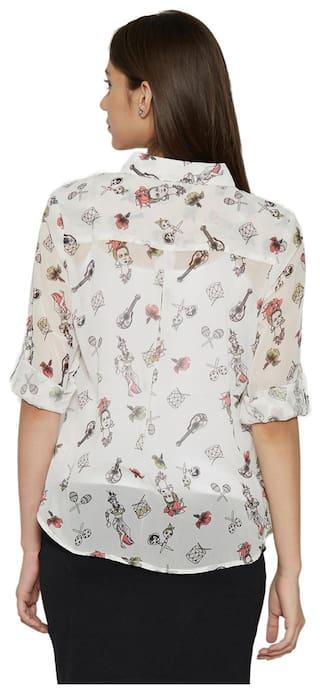 Shirts Globus Polyester Globus Polyester White vnSz0q