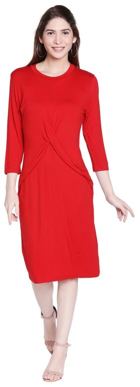 Globus Red Bodycon Dress