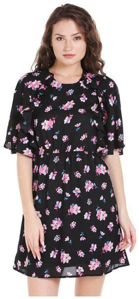 Globus Ruffle Floral Short Dress