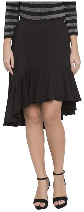 Globus Solid High Low Skirt