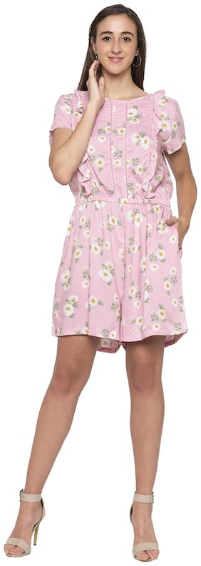 Women Floral Romper ,Pack Of Pack of 1