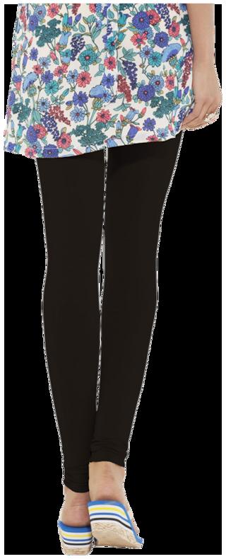34d5eac0c051ad Buy Go Colors Black Blended Lycra Leggings Online at Low Prices in ...