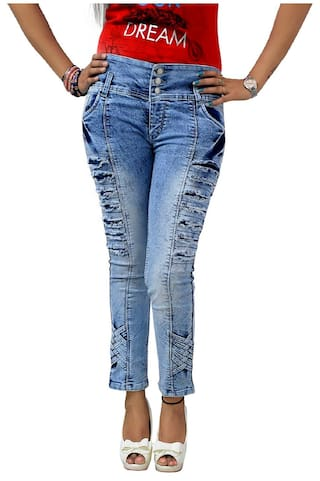 GOVIL;Ice Skinny Jeans Denim Fit Woman Blue w8qwpST