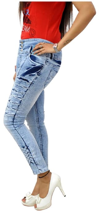 Blue Skinny GOVIL;Ice Jeans Fit Denim Woman wpEqExdXn6