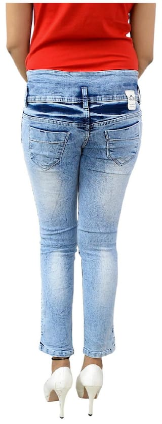 GOVIL;Ice Skinny Denim Blue Fit Woman Jeans RCwfqC