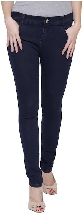 NJ's Women Blue Slim fit Jeans