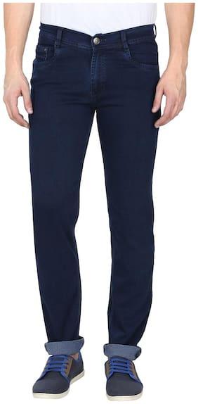 GRADELY Men Blue Regular Fit Jeans