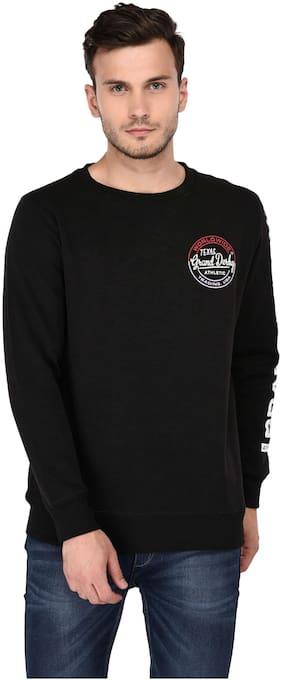Grand Derby Men Black Round neck Sweatshirt