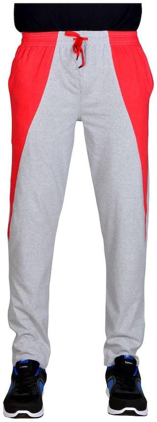 Green House Men Cotton Track Pants - Grey