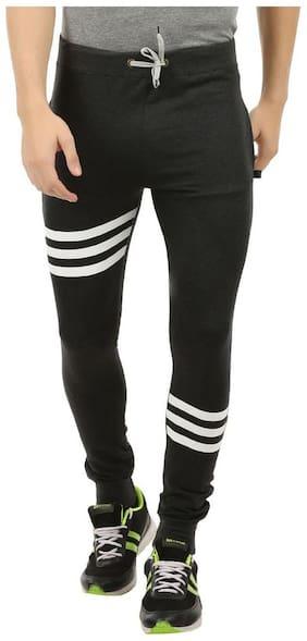 Loose Fit Cotton Track Pants