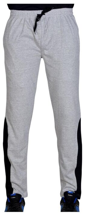 Green House Men Cotton Track Pants - Grey