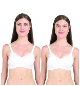 Groversons Paris Beauty Full Coverage Padded Bra - Pack of 2