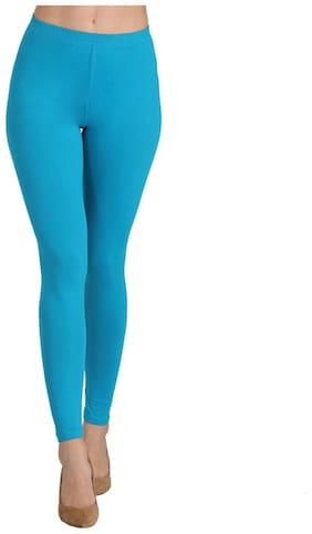 Groversons Paris Beauty Women Full Length Solid Leggings