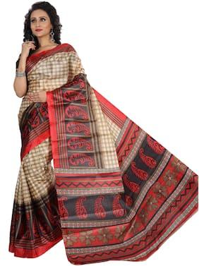 Cotton Bangalori Saree ,Pack Of 1