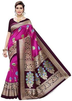 Art Silk Assam Silk Saree